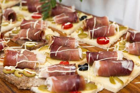 indigenous: Delicious Indigenous Croatian prosciutto ham