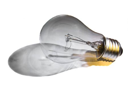 A bulb on an background