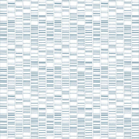 Hand drawn DNA test seamless pattern. Genetic testing endless vector texture.