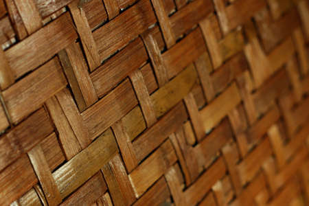 Bamboo backgrounds collection. Old brown tone bamboo planks fence texture.
