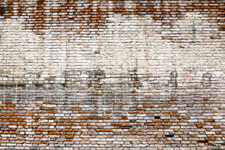 Old brick wall background. Red old brick wall background and texture.