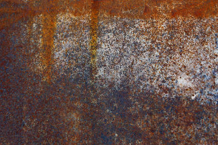 Old metal golden background. Golden grunge metal background and texture with scratches and cracks. 写真素材