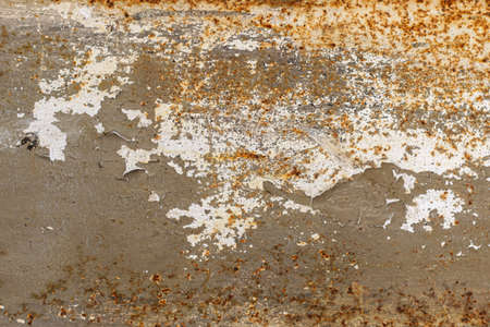 Old metal backgrounds. Vintage grunge metal background and texture with scratches and cracks.