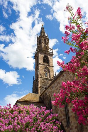 bell tower of the Cathedral of Bolzano