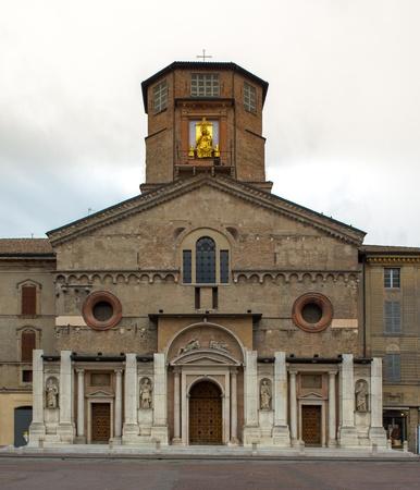 reggio emilia: Cathedral reggio emilia Italy Stock Photo