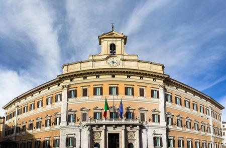 parliament building: Italian parliament, Monte Citorio