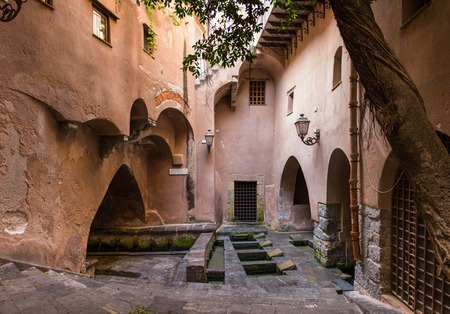 washhouse: the public wash known as medieval wash-house, is located within the old city walls