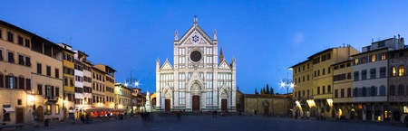 The Basilica of Santa Croce, in the homonymous square in Florence, is one of the largest churches officiated by the Franciscans Reklamní fotografie