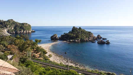 ionian island: Taormina is one of the most important international tourist centers of Sicily