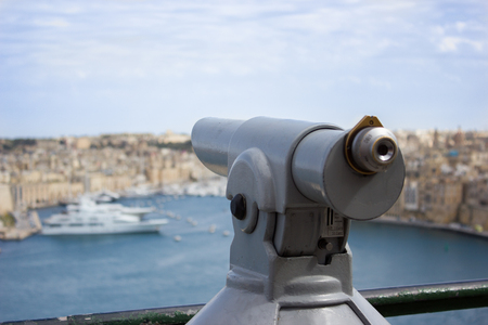 One of the most beautiful parks in Valletta, with a panoramic view from the bastion of St. Peter and Paul photo