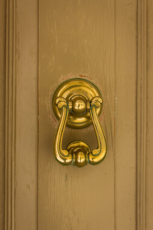 knock: ornamental swing to knock on doors, used as the modern bells