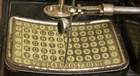 enigma: encryption code used in war to hide messages to the enemy