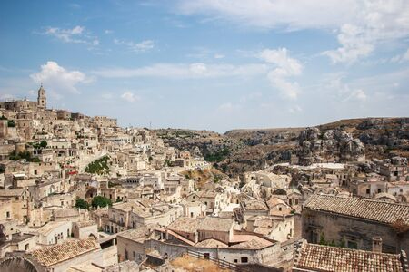 rupestrian: The Sassi of Matera are the historic city of Matera
