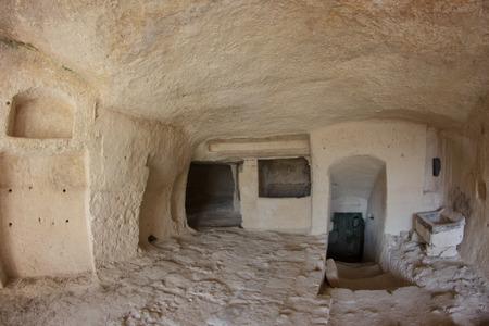 rupestrian: The Sassi of Matera are the historic city of Matera