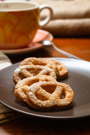 homemade cookie in a natural and traditional way Stock Photo