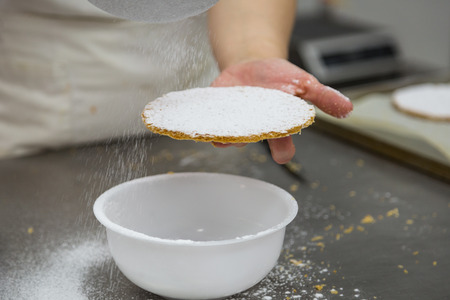 puff pastry used as a base for desserts