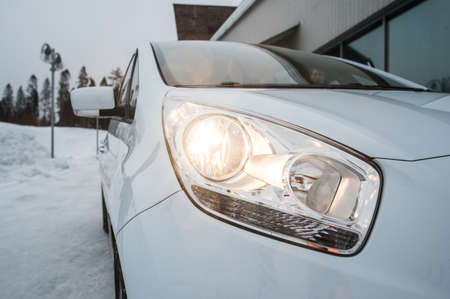 test drive: St. Petersburg, Russia - February 14, 2015: Test Drive of KIA Wenga (updated version in 2015) Editorial