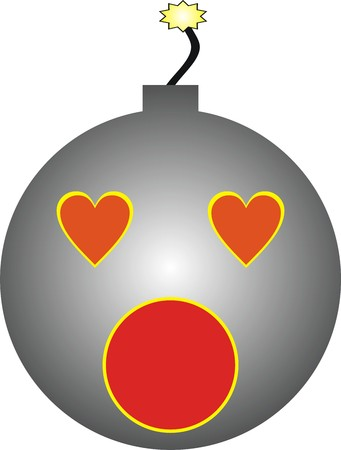 bomb: Design Bomb of love.