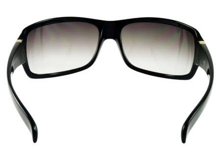 Sunglasses isolated over white surface. Back view