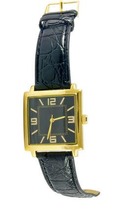 stylish watch closeup over white surface Stock Photo - 9323792