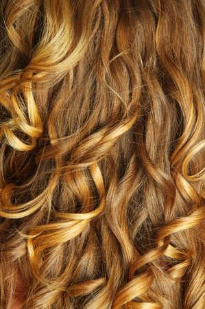 schöne blonde Haar Nahaufnahme Standard-Bild