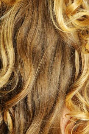 beautiful blonde hair closeup Stock Photo - 12206658