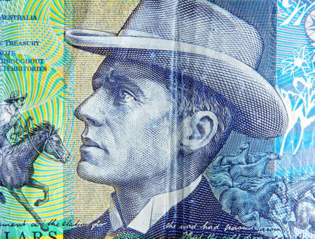 australian ten dollars note portrait photo