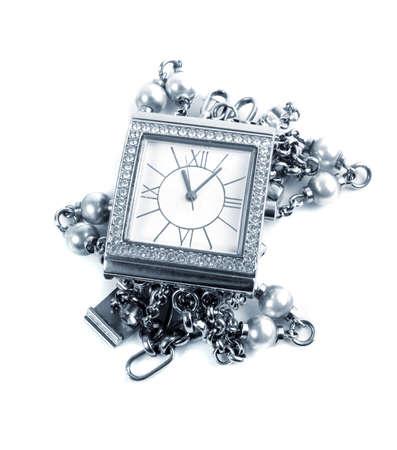 elegant female watch.toned picture Stock Photo - 15171063