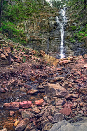waterfalls in Victoria.Australia. HDR shot photo