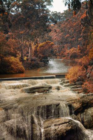 waterfalls in the fall in Victoria.Australia photo