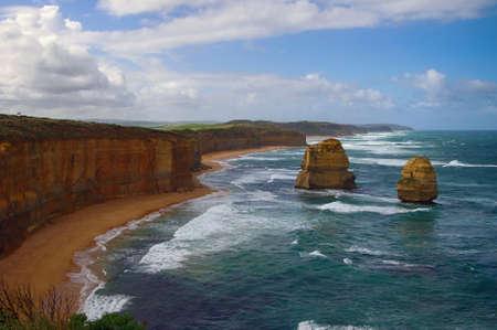 beautiful 12 apostles in Australia photo