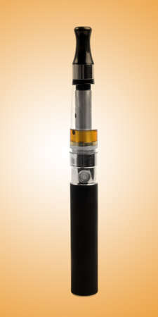 big black electronic cigarette closeup photo