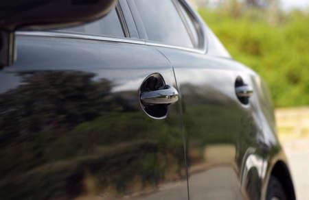modern car detail closeup. shallow DOF Stock Photo - 16420004