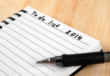 to do list for 2014 new year photo