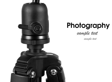 tripod closeup.photography concept Stock Photo - 27404036