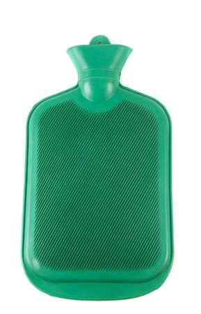 w�rmflasche: Gummi-W�rmflasche �ber wei�