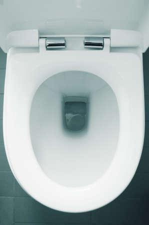 weiß zuhause WC Nahaufnahme
