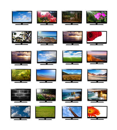 tv monitor collection,all images are from my portfolio photo