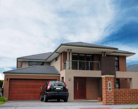 Maison typique australien. Melbourne, Australie Banque d'images - 36728466