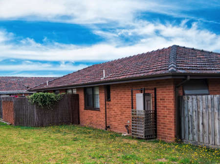 suburbia: Typical Australian residential house closeup