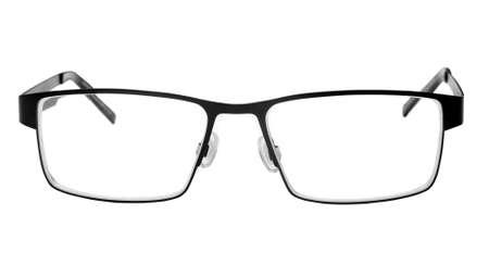 vision glasses over white