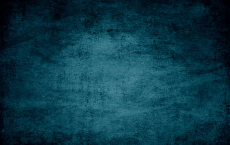 blue vintage background: old dramatic dark texture closeup Stock Photo