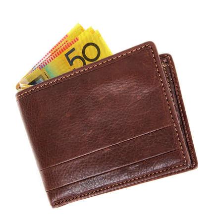 australian money: australian money in the wallet