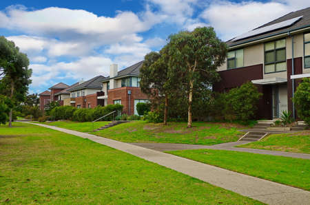 typical: Typical Australian residential houses
