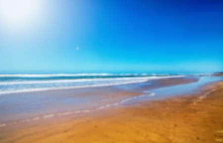 unfocused: Unfocused Australian coast background