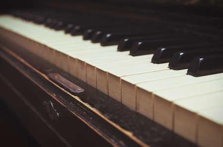 piano closeup: dark piano closeup,shallow DOF