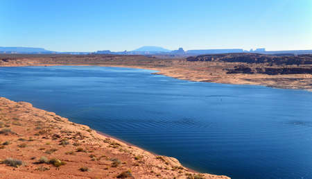Colorado river. Arizona.USA Stock Photo