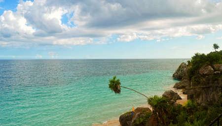 Beautiful view in Cancun,Mexico