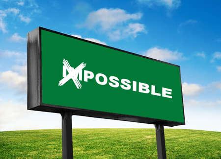 緑の看板に可能な文言