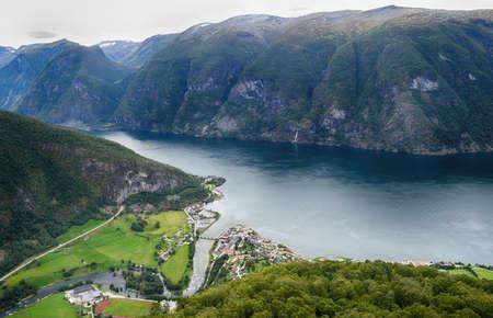Beautiful landscape.Travel in Norway